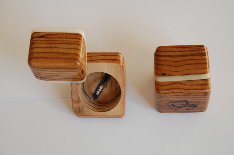 objet unique en bois série limitée, désignée par un artisan menuisier ebeniste