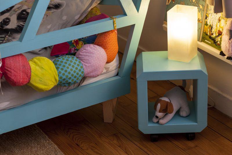 table de chevet pour lit cabane