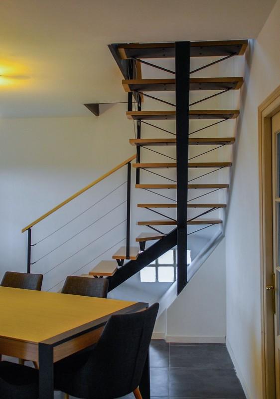 escalier aérien de style indus fabriqué à Ramonville st Agne